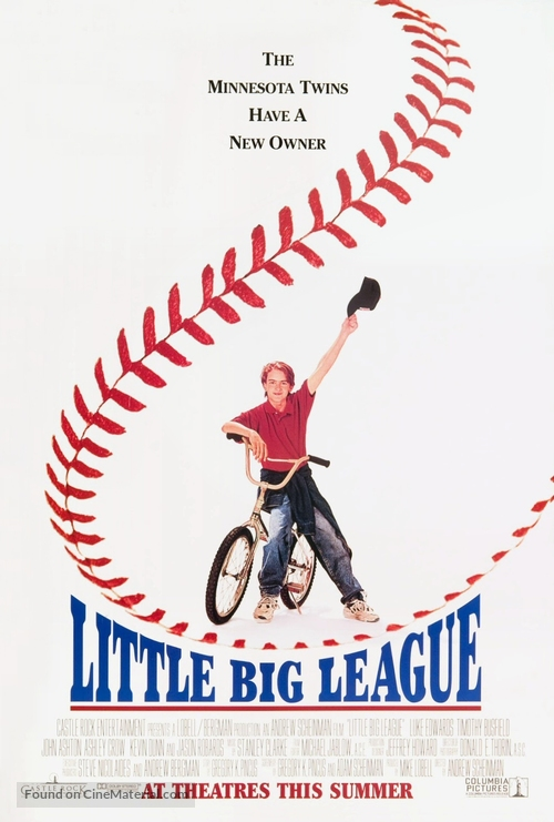 Little Big League - Movie Poster