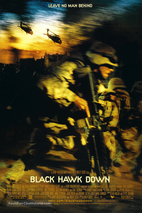 Black Hawk Down - Movie Poster