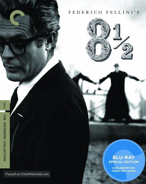 8½ - Blu-Ray movie cover