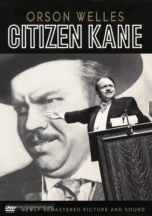 Citizen Kane - DVD movie cover