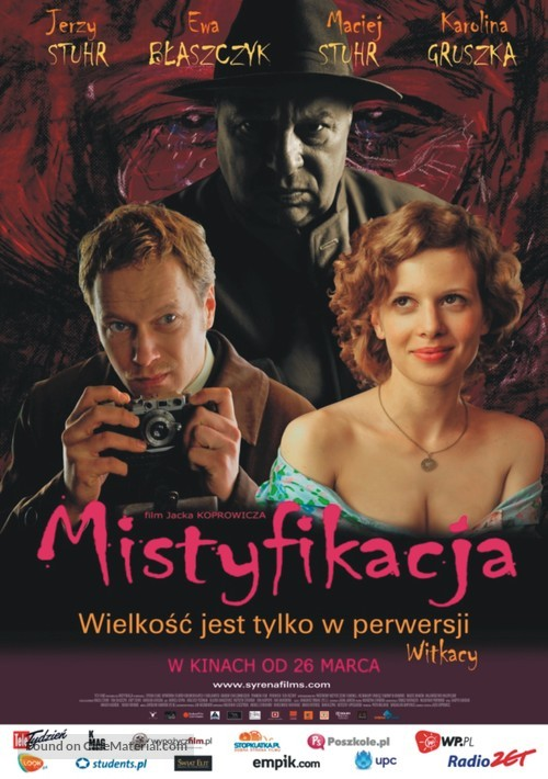 Mistyfikacja - Polish Movie Poster