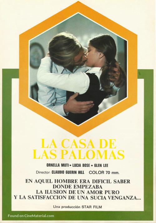 La casa de las palomas - Spanish Movie Poster