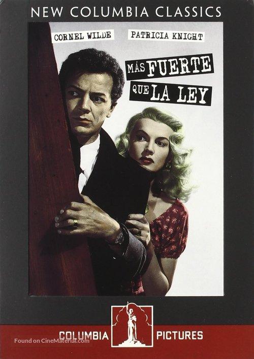 Shockproof - Spanish DVD movie cover