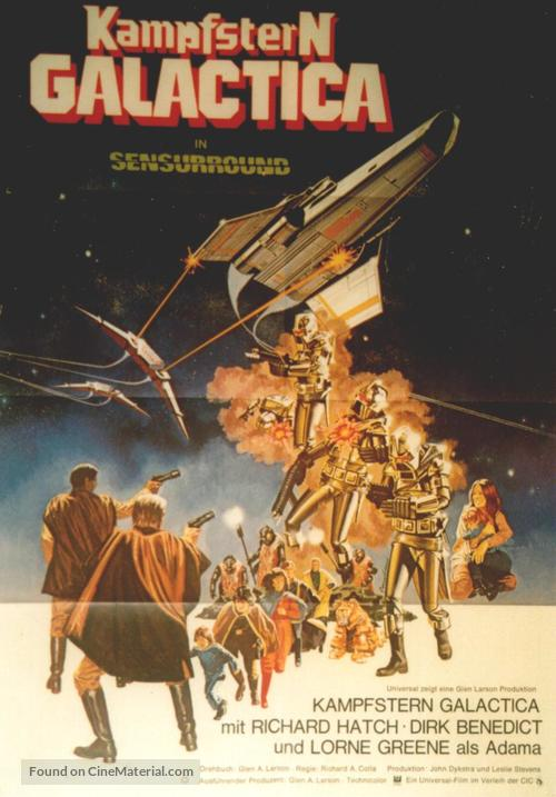 Battlestar Galactica - German Movie Poster