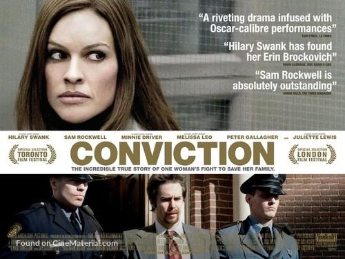 Conviction - British Movie Poster