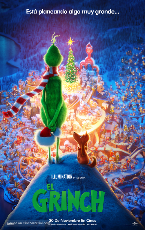 The Grinch - Spanish Movie Poster
