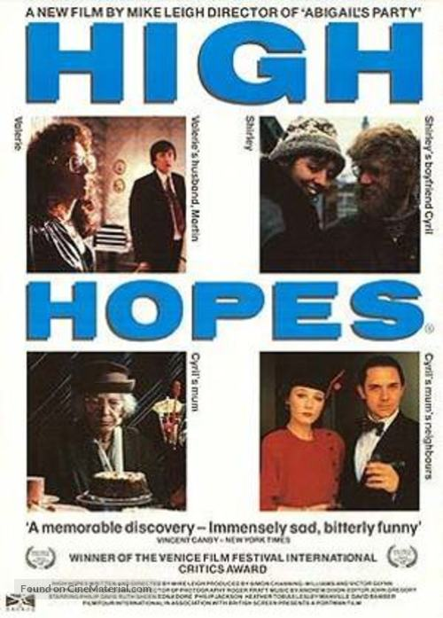 High Hopes - British Movie Poster