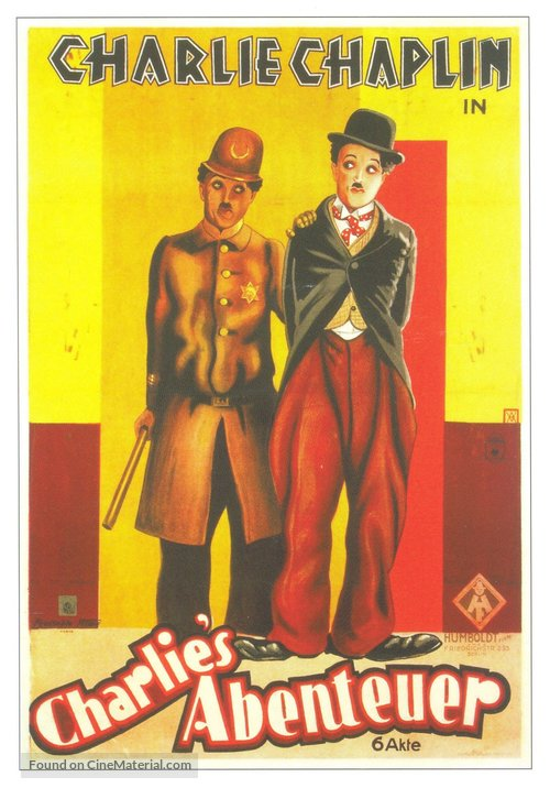 Easy Street - French Movie Poster