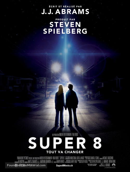 Super 8 - Swiss Movie Poster