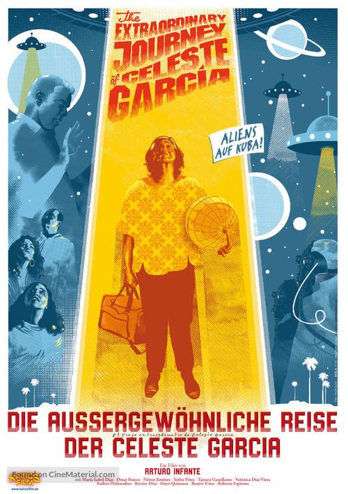 El viaje extraordinario de Celeste García - German Movie Poster