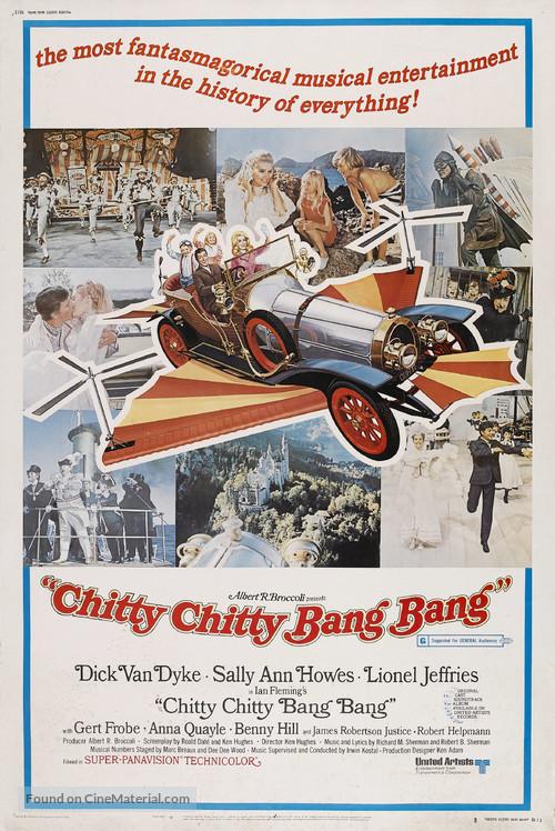 Chitty Chitty Bang Bang - Movie Poster