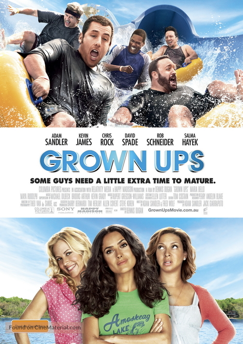 Grown Ups - Australian Movie Poster