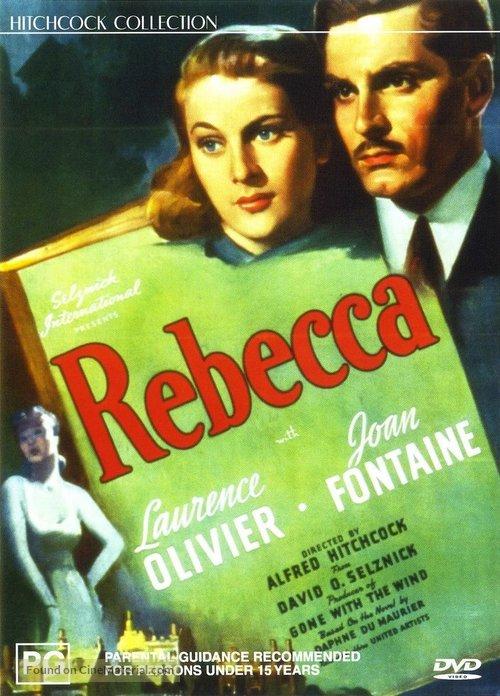 Rebecca - Australian DVD movie cover