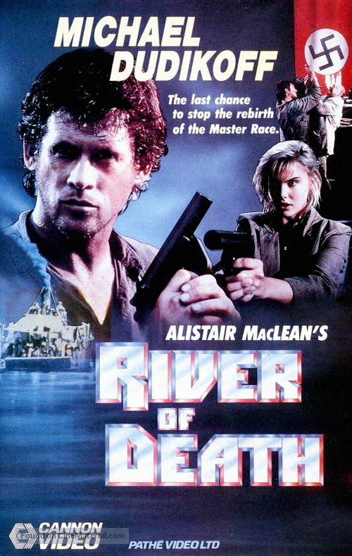 River of Death - British VHS movie cover