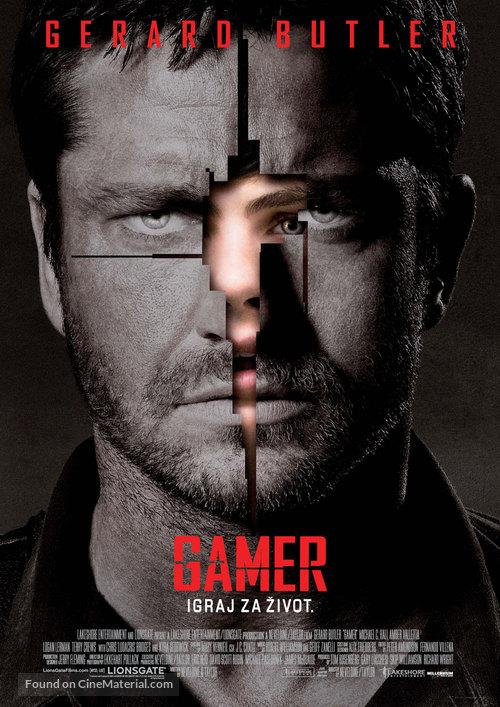 Gamer - Serbian Movie Poster