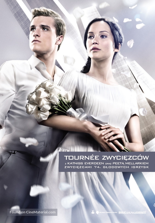 The Hunger Games: Catching Fire - Polish Movie Poster