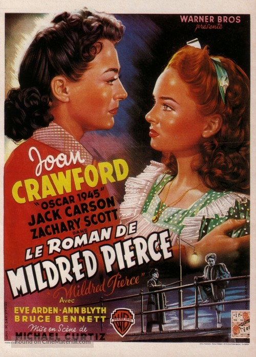 Mildred Pierce - Belgian Movie Poster