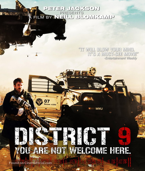 District 9 2009 Movie Cover