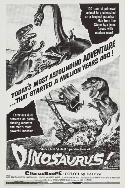 Dinosaurus! - Re-release movie poster