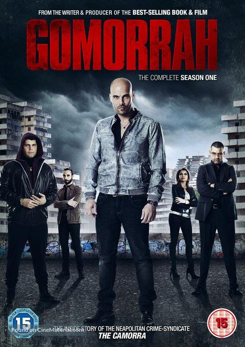 """Gomorra"" - British DVD movie cover"