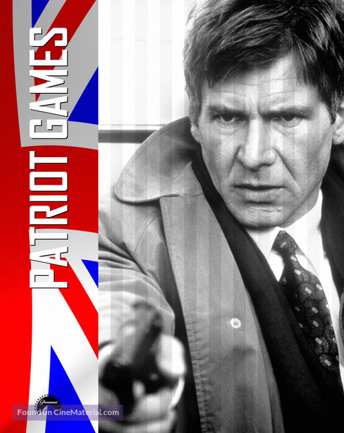 Patriot Games 1992 Movie Poster