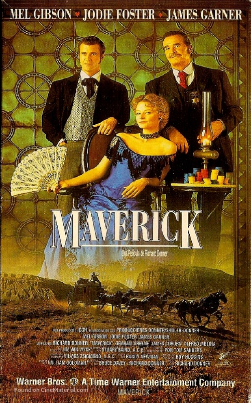 Maverick - Argentinian Movie Poster