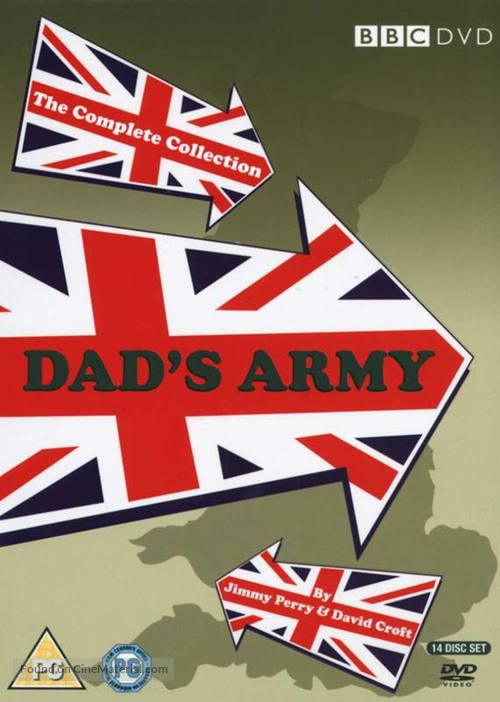 """""""Dad's Army"""" - British DVD movie cover"""
