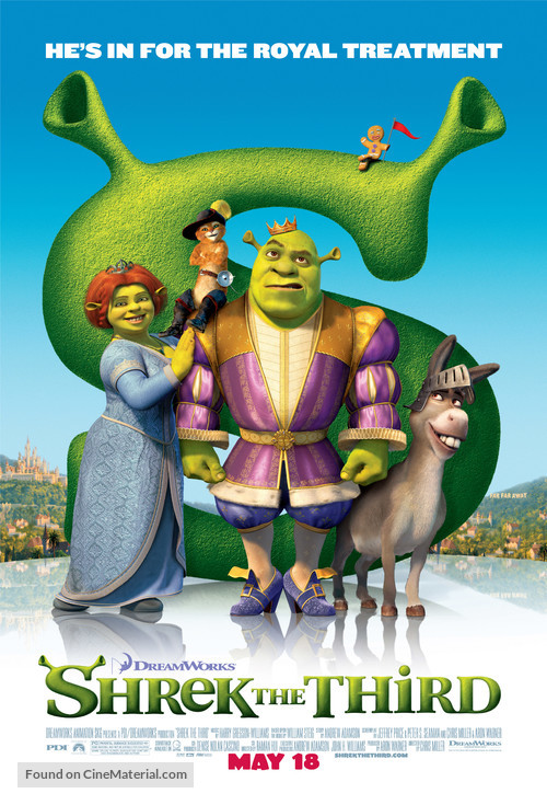 Shrek the Third - Movie Poster