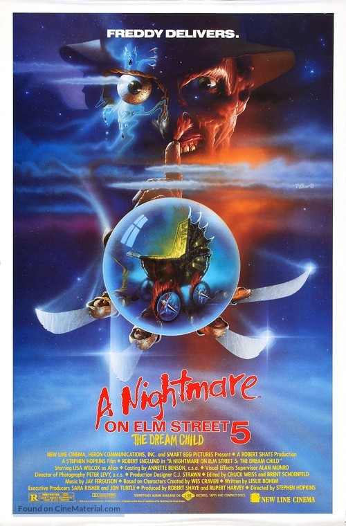 A Nightmare on Elm Street: The Dream Child - Movie Poster