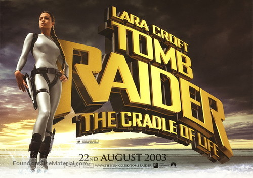 Lara Croft Tomb Raider The Cradle Of Life 2003 British Movie Poster