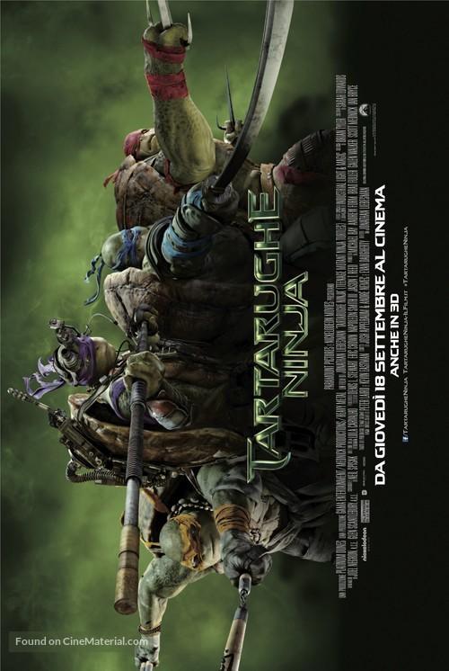 Teenage Mutant Ninja Turtles - Italian Movie Poster