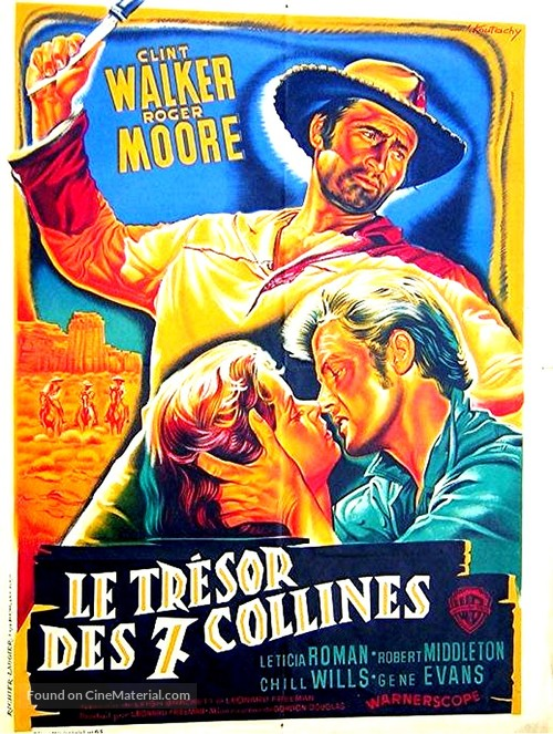 Gold of the Seven Saints - French Movie Poster