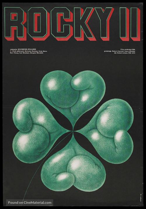 Rocky II - Polish Movie Poster