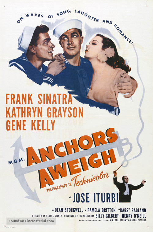 Anchors Aweigh - Movie Poster