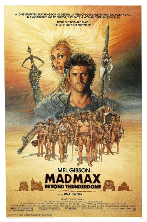 Mad Max Beyond Thunderdome - Movie Poster
