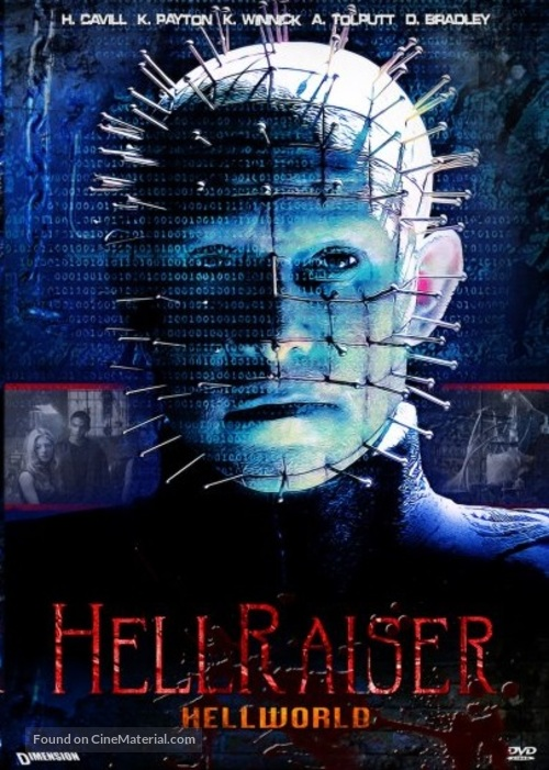 Hellraiser: Hellworld - DVD movie cover