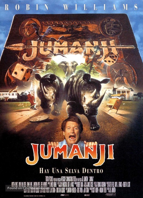 Jumanji - Spanish Movie Poster