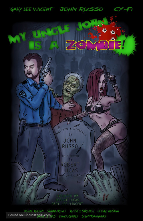 My Uncle John Is a Zombie! - Movie Poster