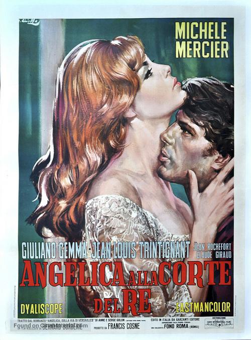 Angélique et le roy - Italian Movie Poster
