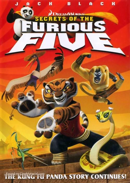 Kung Fu Panda: Secrets of the Furious Five - Movie Cover