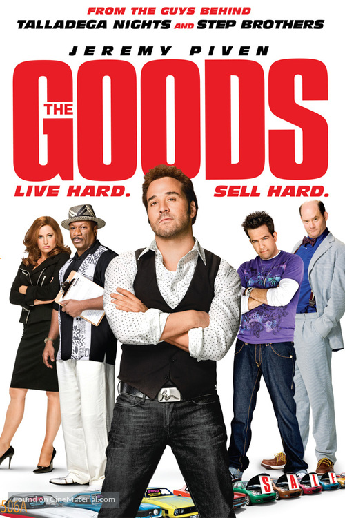 The Goods: Live Hard, Sell Hard - DVD movie cover