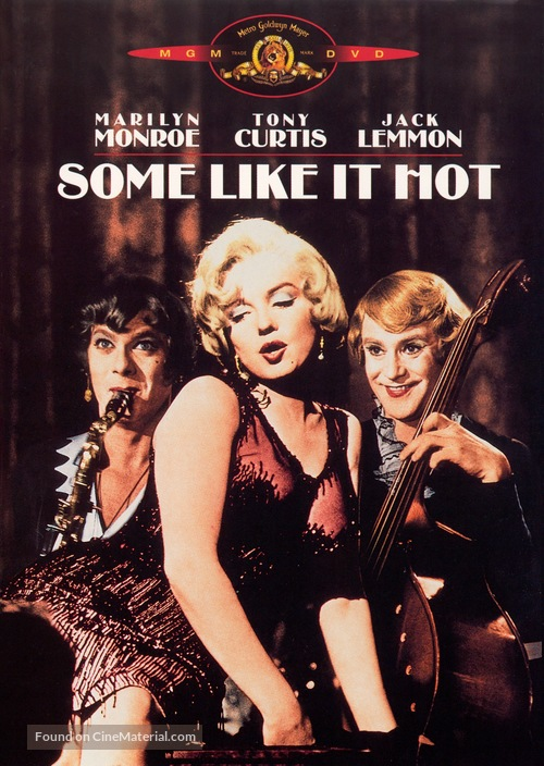 Some Like It Hot - DVD cover