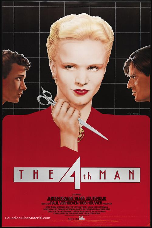 De vierde man - Movie Poster