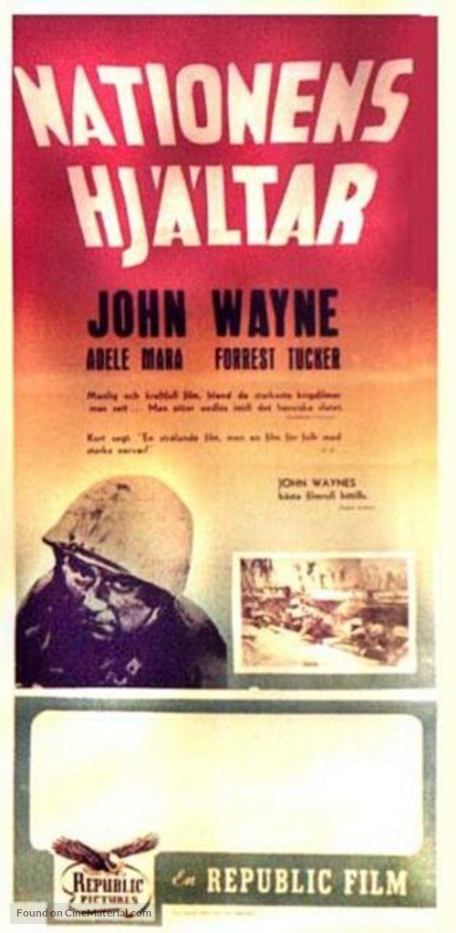 Sands of iwo jima - original movie poster