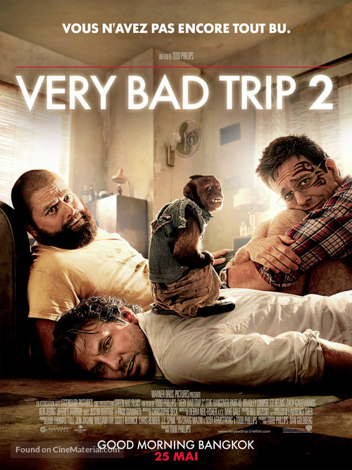 The Hangover Part II - French Movie Poster