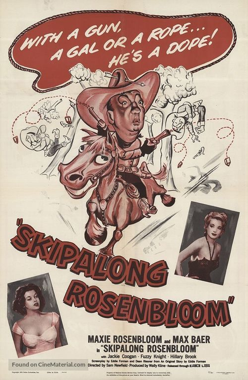 Skipalong Rosenbloom - Movie Poster