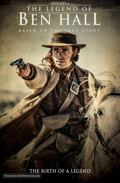 The Legend of Ben Hall - DVD movie cover