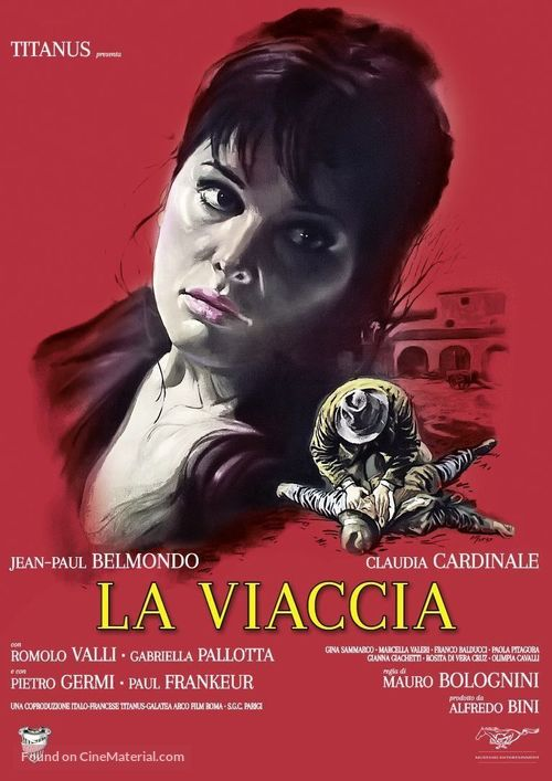 La viaccia - Italian Movie Cover