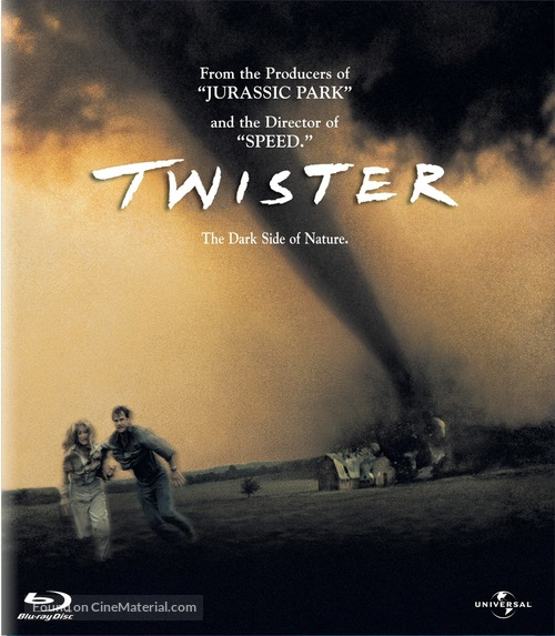 Twister - Blu-Ray cover