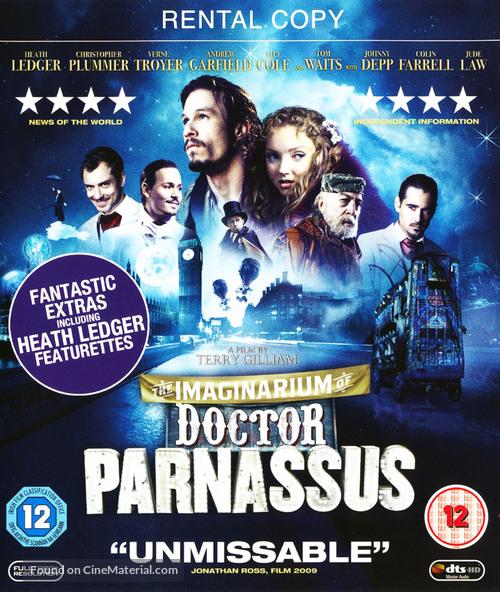 The Imaginarium of Doctor Parnassus - British Movie Cover